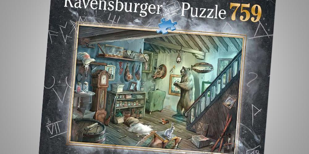 Das Exit Spiel Gruselkeller als Puzzle