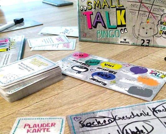 Small Talk Bingo das Spiel
