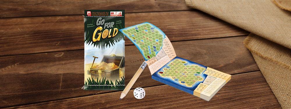 Das Spiel Go for Gold